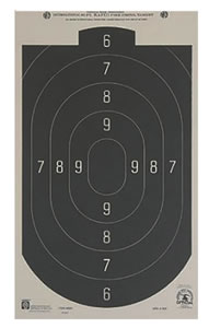 Hoppes B24 50 Feet Rapid Fire Silhouette Targets 20 Pack
