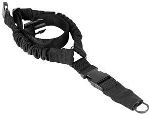 Aim Sports AOPS01B, 1 point Tactical Bungee Sling, Adjustable, Black