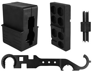 Aim Sports ATARAK, AR15/M4 Armorer Tool Kit, w/ Vise Blocks, Stock Combo Wrench, & Front Sight Tool