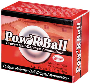 Corbon Pow`Rball Ammunition PB357100, 357 Remington Mag, Powerball, 100 GR, 1600 fps, 20 Rd/bx