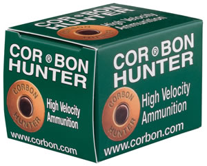 Corbon Hunter Ammunition HT454335HC, 454 Casull, Hard Cast, 335 GR, 1600 fps, 20 Rd/bx