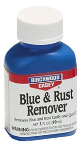 Birchwood Casey 16125  Liquid Blue & Rust Remover 3 Oz