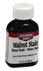 Birchwood Casey 24123  Walnut Water Stain Liquid 3 Oz