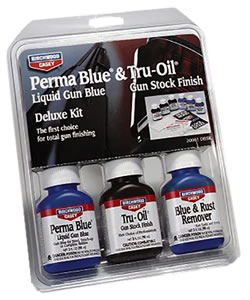 Birchwood Casey 20001  Deluxe Blueing & Stock Finish Kit