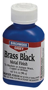 Birchwood Casey 15225  Brass Black Fast Acting Metal Touch Up