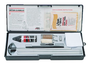 Kleen-Bore SHO217  20 Gauge Shotgun Cleaning Kit w/Aluminum Rod