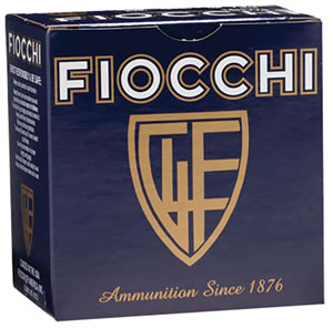 Fiocchi Game/Target Loads 20GT, 20 Gauge, 2 3/4 in, 7/8 oz, 1210 fps, #7 1/2 Lead Shot, 25 Rd/bx, Case of 10 Boxes