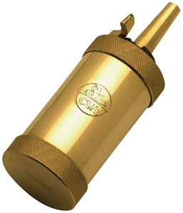 CVA AC1400A Brass Field Model Cylinder Flask