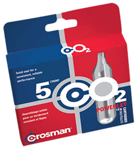 Crosman 5 Pack CO2 Cartridges 231B