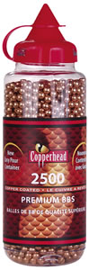 Crosman Air Copperhead BBs .177 Caliber 0747, 2500/Bottle