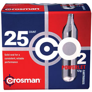 Crosman 25 Pack CO2 Cartridges 2311