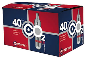 Crosman 40 Pack CO2 Cartridges 23140