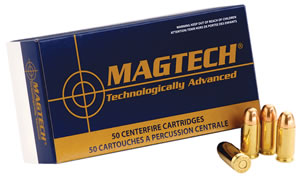 Magtech Handgun Hunting Ammunition 357B, 357 Remington Mag, Semi-Jacketed Hollow Point, 158 GR, 1235 fps, 50 Rd/bx