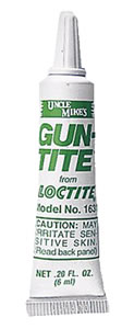 Uncle Mikes 16310 Gun-Tite Adhesive, 6 ml Tube