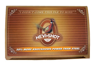 Hevishot Pheasant Heavy Density 22234, 20 Gauge, 2 3/4 in, 7/8 oz, 1250 fps, #4  Shot, 10 Rd/bx