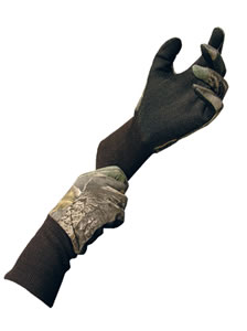 Primos 6392 Mossy Oak New Break-Up Cotton Gloves