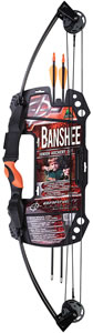 Barnett Banshee Intermediate Compound Bow Set w/Ambidextrous Handle 1075