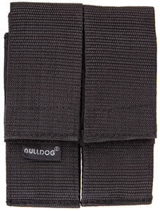 Bulldog WMAGL Black Double Magazine Pouch