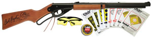 Daisy 4938 Red Ryder Air Rifle w/Fun Kit, Lever Action, .177 Cal, Stained Solid Wood Stock, Blued Finish