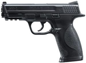 Umarex 2255050 Smith & Wesson M&P BB Pistol Black Finish Semi-Auto CO2