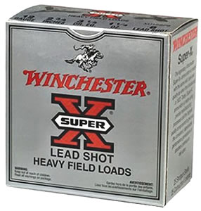 Winchester Super X Game XU126, 12 Gauge, 2 3/4 in, 1 oz, 1290 fps, #6 Lead Shot, 25 Rd/bx, Case of 10 Boxes