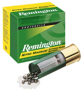 Remington Premier Nitro Magnum NM20S6, 20 Gauge, 2 3/4 in, 1 1/8 oz, 1175 fps, #6 Lead Shot, 25 Rd/bx, Case of 10 Boxes
