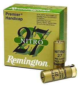 Remington Premier STS Target Loads STS12NH17, 12 Gauge, 2 3/4 in, 1 oz, 1290 fps, #7 1/2 Lead Shot, 25 Rd/bx, Case of 10 Boxes