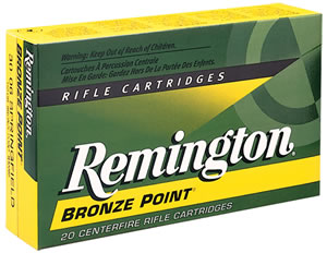 Remington Centerfire Rifle Cartridges R68R1, 6.8 MM Remington, Open Tip Match, 115 GR, 2775 fps, 20 Rd/bx