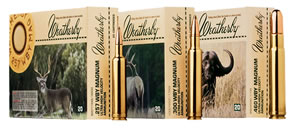Weatherby Ammunition, N270150PT, 270 Weatherby, Nosler Partition, 150 GR, 3245 fps, 20 Rd/bx