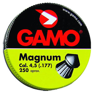 Gamo .177 Caliber Magnum Soft Point Pellets/250 Count 632022454