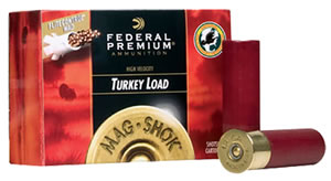 Federal Mag Shok FliteControl Turkey PFC159F6, 12 Gauge, 3 in, 2 oz, 1150 fps, #6 Lead Shot, 5 Rd/Bx