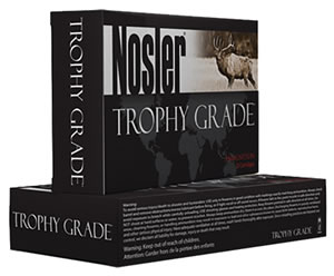 Nosler Trophy Ammunition 60069, 300 Win Mag, Nosler Partition, 200 GR, 20 Rd/bx