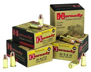 Hornady Handgun Ammunition 9131, 357 SIG, Jacketed Flat Point/XTP, 147 GR, 1225 fps, 20 Rd/bx