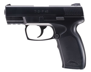 Umarex 2254821, TDP CO2 Double Action Air Pistol, Semi-Automatic, .177 Cal