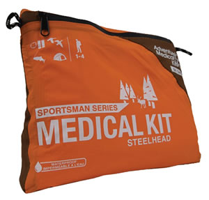 Adventure Medical Kits 01050386, Sportsman Steelhead Medical Kit, Orange