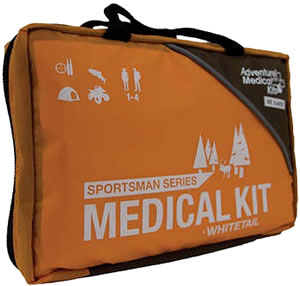 Adventure Medical Kits 01050387, Sportsman Whitetail Medical Kit, Orange