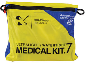 Adventure Medical Kits 01250291, Ultralight/Watertight .7 Medical Kit, Yellow