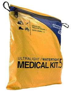 Adventure Medical Kits 01250292, Ultralight/Watertight .5 Medical Kit, Yellow