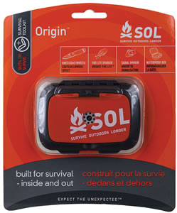 Adventure Medical Kits 01400828, SOL Origin Tool Survival Kit, Orange