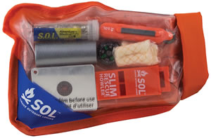 Adventure Medical Kits 01401727, SOL Scout Survival Kit, Orange