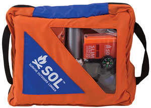 Adventure Medical Kits 01401737, SOL Hybrid Medical/Survival/Repair Kit, Orange