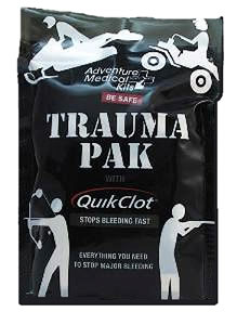 Adventure Medical Kits 20640292, Trauma Pak Kit With Quickclot