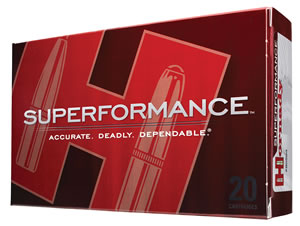 Hornady Rifle Ammunition 8200, 300 Winchester Mag, Spire Point, 180 GR, 2960 fps, 20 Rd/bx