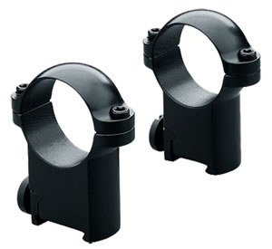 Leupold Sako Ring Mounts 54409, Sako, Medium, 1 in, Matte Black
