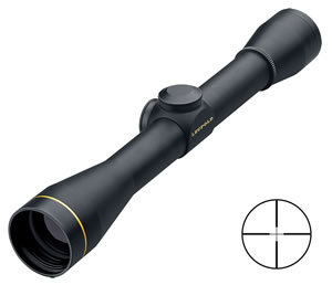 Leupold FX-II Fixed Power Rifle Scope 58560, 6x, 36mm Obj, 1 in Tube Dia, Gloss, Duplex Reticle