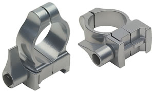 CVA Scope Rings DS400S, Medium, Silver