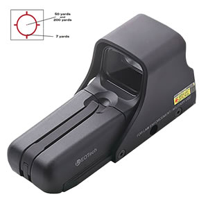 Eotech 552A65 Holographic Weapon Sight -  1 M.O.A Dot, Black, w/$10 Coupon For Future Order