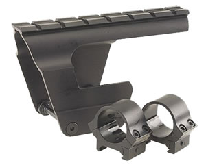 B-Square Military 18600 Mount w/Rings For AK47/MAK90/AKM/AKS