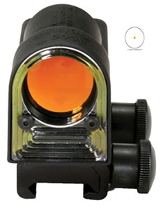 Trijicon  RX0114 Reflex Sight - 6.5 M.O.A Amber Dot w/flattop mount, w/$10 Coupon For Future Order