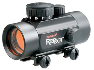 Tasco BKRD30  Propoint/Red Dot Scope - 1X30 5 M.O.A   Matte, Fits Std. Weaver Style Base